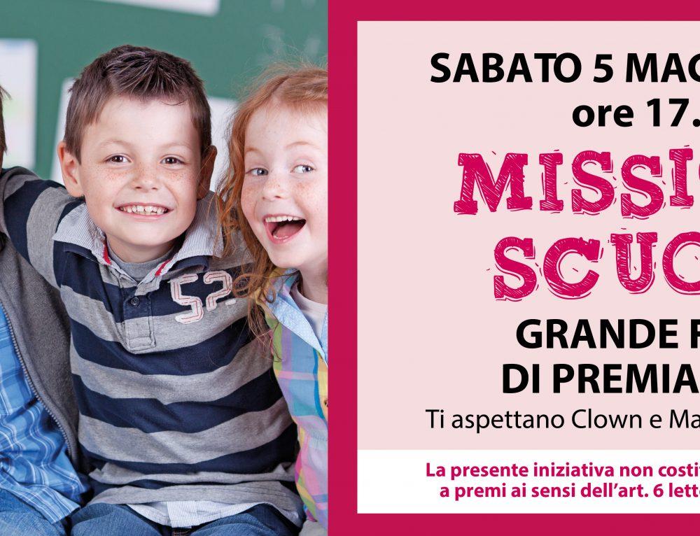 Missione Scuola , Sabato 5 Maggio, grande festa di premiazione