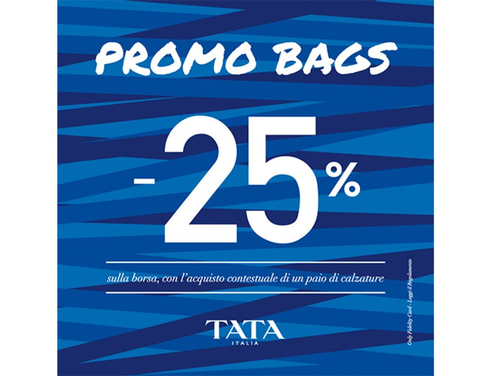 Tata, Promo Bags -25%