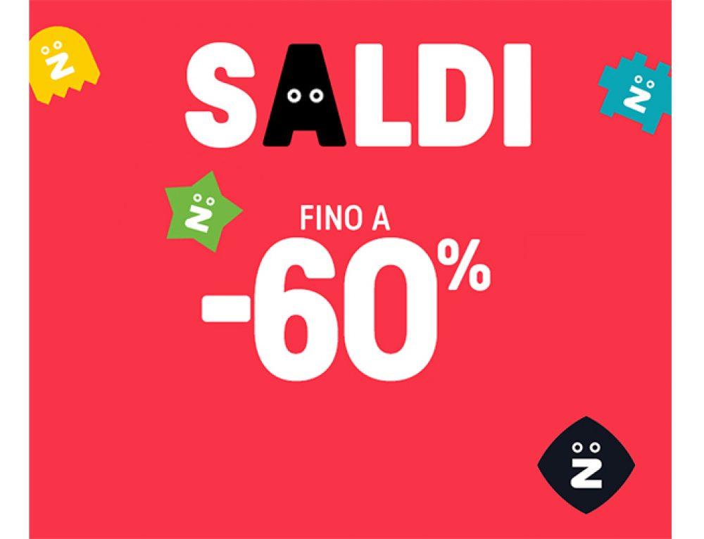 Da Z sono iniziati i SALDI con sconti fino al 60%!