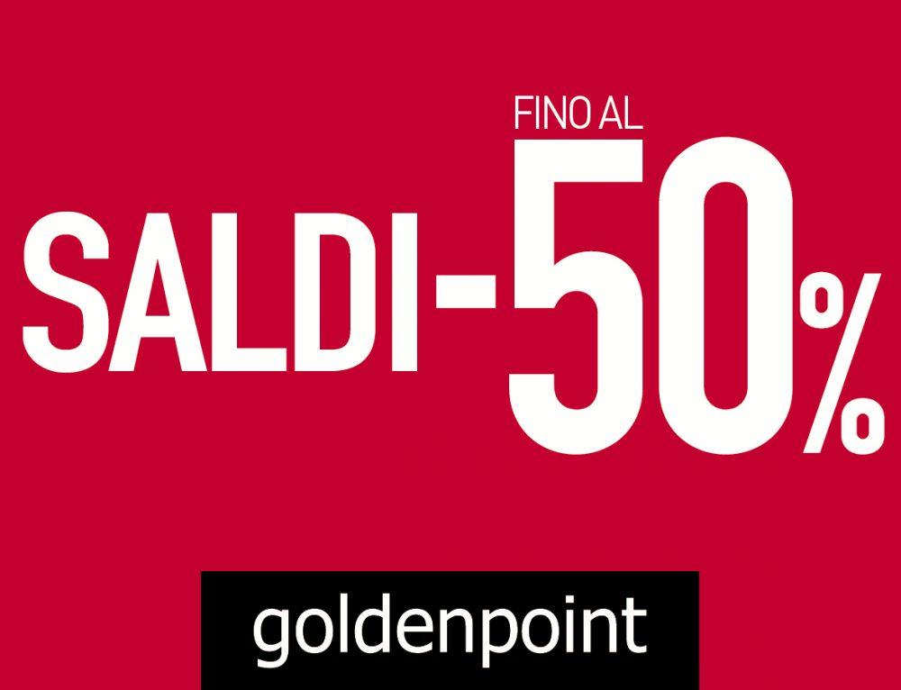 SALDI FINO AL -50%  Golden Point