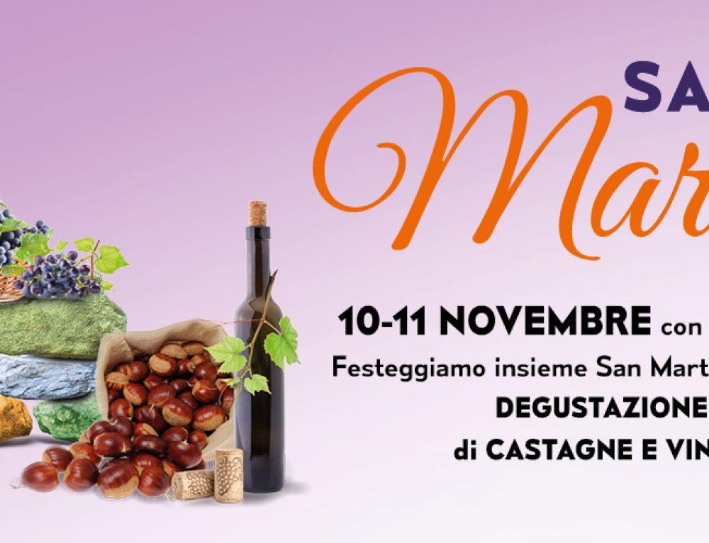Festeggiamo insieme San Martino! 10-11 Novembre dalle 16:00 alle 20:00