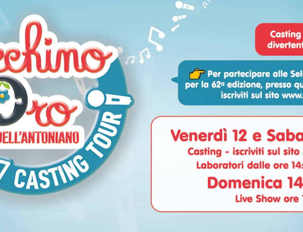🎼ZECCHINO D'ORO: CASTING TOUR!🎶